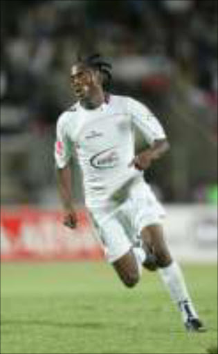 Lerato Chabangu of Supersport United.Pic: VELI NHLAPO. 22/09/2009. © Sowetan.