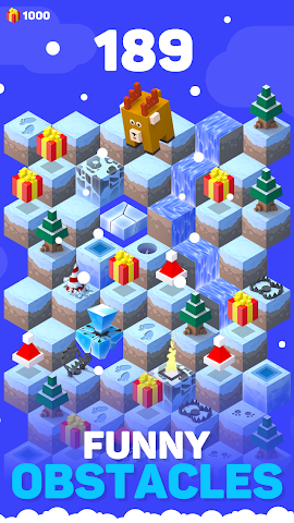 android Ice Hill: Endless Xmas Fun Screenshot 1