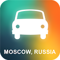 Moscow, Russia GPS Navigation icon