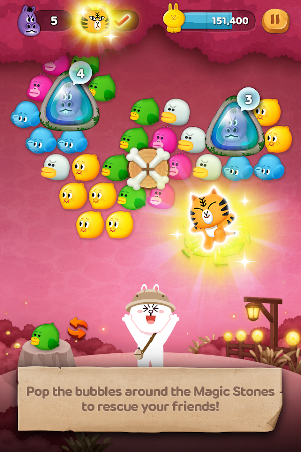 Screenshots of LINE Bubble 2 for iPhone