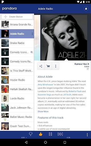 Pandora® Radio for PC