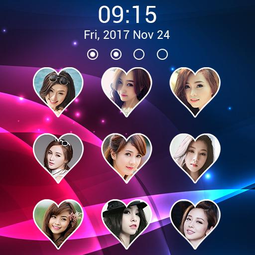 love keypad lock screen (app)