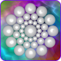 Spin balls 3d live wallpaper icon