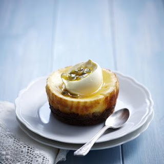 Baked Passionfruit Cheesecakes Recipe