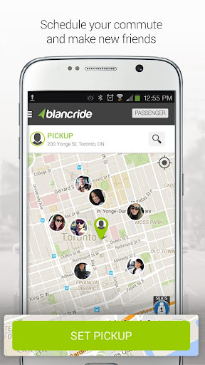 BlancRide – Carpooling Evolved