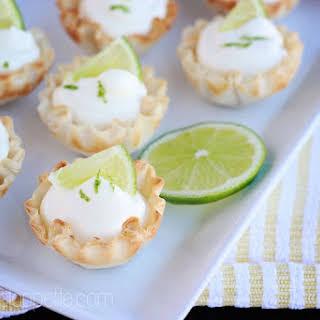 Key Lime Mousse Bites.