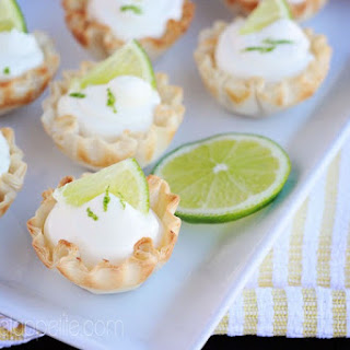 Key Lime Mousse Bites.