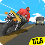 Traffic X Rider: Highway Real Racer Moto 3D Icon