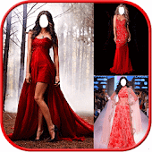 Red Prom Women Dress