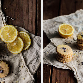 Lavender Lemon Shortbread