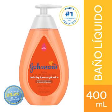 Baño Liquido Johnson   Baby de Pies a Cabeza X400ml