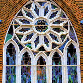Stained Window by Rich Hooper - Buildings & Architecture Places of Worship ( church, stained glass, glass art, window, architectural )