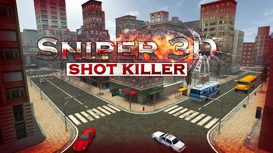 Sniper 3D Strike Assassin Ops – Gun Shooter Game 10
