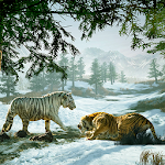 Ultimate Wild White Tiger Simulator Icon