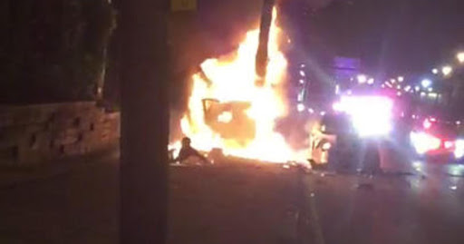 Video: New Jersey cops cited for kicking and dragging a burning man