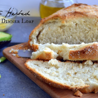 Classic Crusty Herbed Dinner Loaf