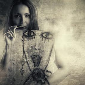 Lilith by Bojan Dzodan - People Fine Art