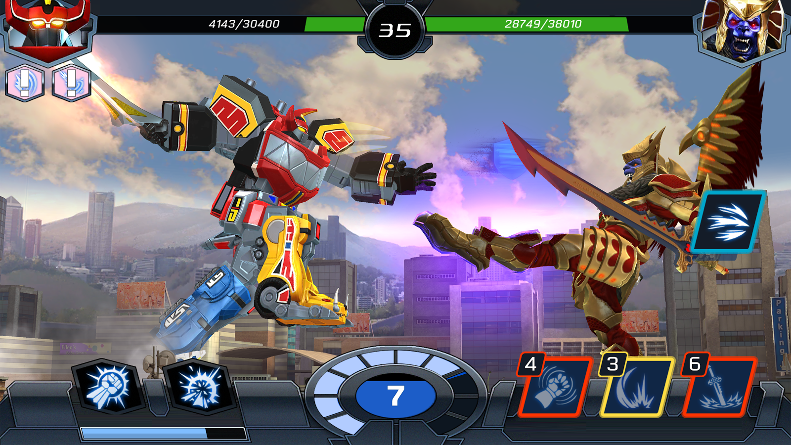 Power rangers legacy wars android apps on google play power rangers legacy wars screenshot voltagebd Images
