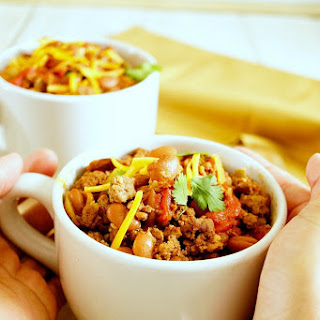 Crock Pot Chili Soup.