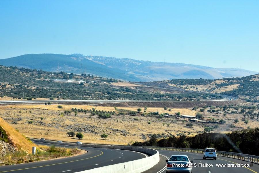 Галилея, Израиль. Дорога. Экскурсия по Верхней Галилее.