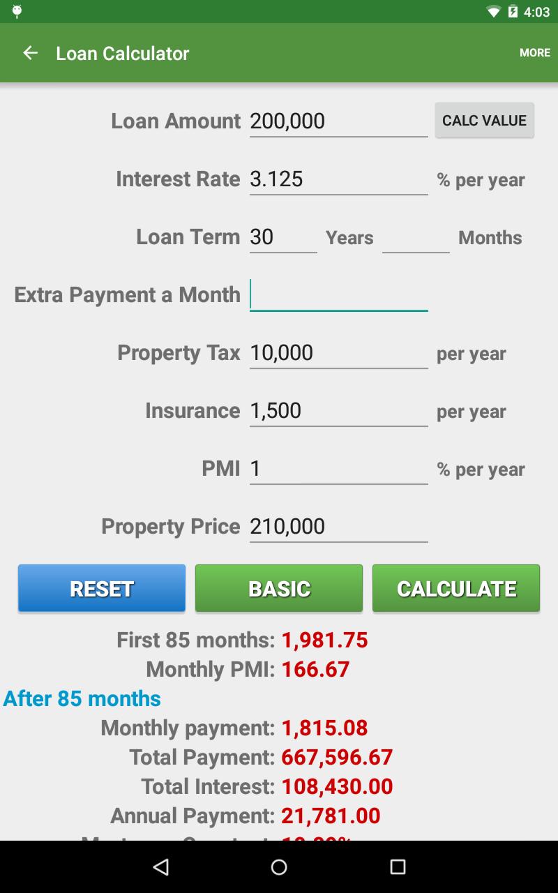Financial Calculators screenshot #19