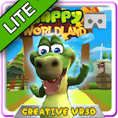 HAPPY WORLD LAND VR CARDBOARD FREE VERSION