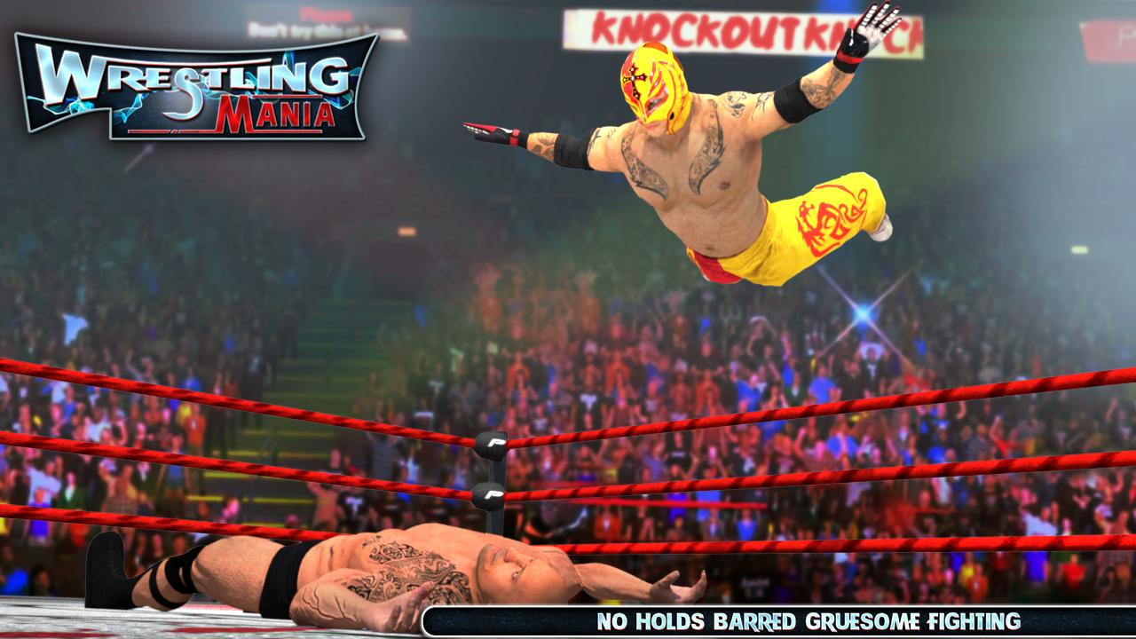WRESTLING MANIA : WRESTLING GAMES & FIGHTING- screenshot