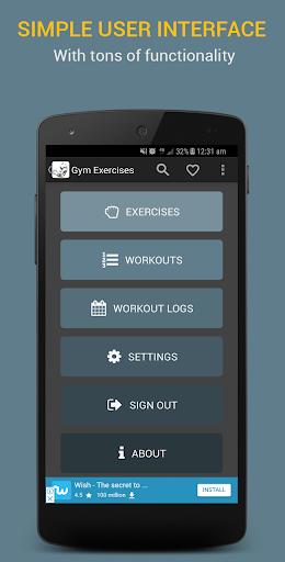 Gym Exercises 2.1 screenshots 22