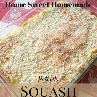 Potluck Squash Casserole