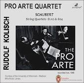 Kolisch-Pro Arte Rarities: Schubert – String Quartets, D. 112 & D. 804 (Live Historical Recordings)