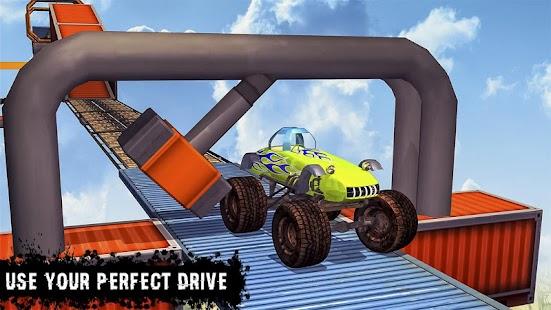 Monster truck Impossible Tracks 3D - náhled