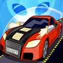 Bouncy Car: UFO Alien Shooter icon