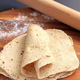 Homemade Wholemeal Tortillas (Flatbread).