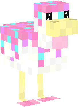 Cute_Pink_Cupcake_Chicken.