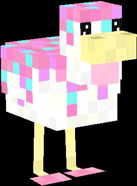 Cute_Pink_Cupcake_Chicken.