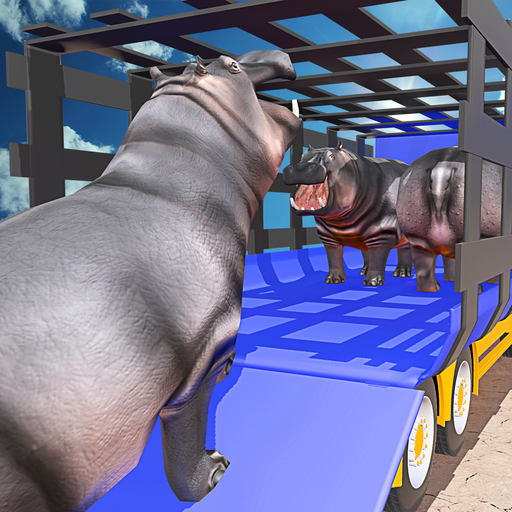 Wild Animals Transport Truck
