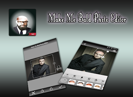Make Me Bald Photo Montage - náhled