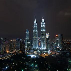 Kuala Lumpur City Centre by Sham ClickAddict - Buildings & Architecture Office Buildings & Hotels