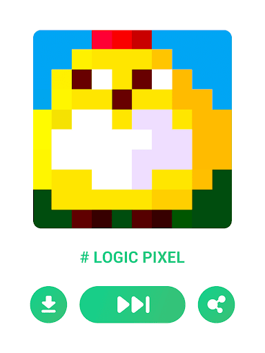 Logic Pixel - Picture puzzle modavailable screenshots 21