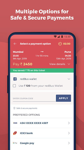 redBus - rPool Online Bus Ticket Booking App India screenshot 5