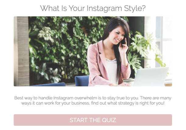 What is your Instagram style quiz cover