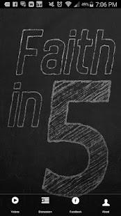 Faith in Five - náhled