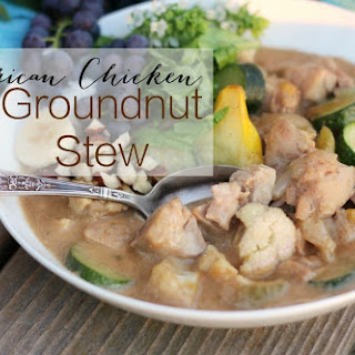 African Chicken Groundnut Stew