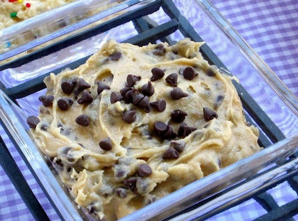 Safe-to-eat Chocolate Chip Cookie Dough Recipe