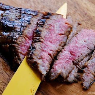 Grilled Asian Flank Steak.