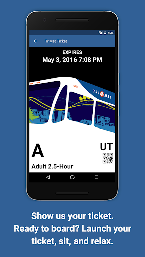 TriMet Tickets Screenshot