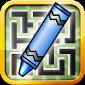 Kids Draw Maze Labyrinth icon