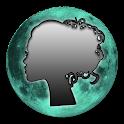 Lunar Calendar. Haircut,Beauty icon