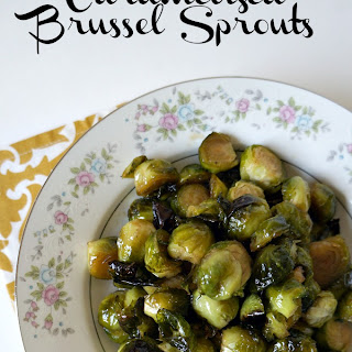 Caramelized Brussel Sprouts.