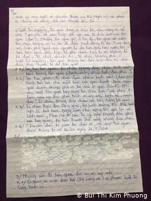 ietnam zensierter Brief Nguyen bac Truyen (Bui Thi Kim Phuong)